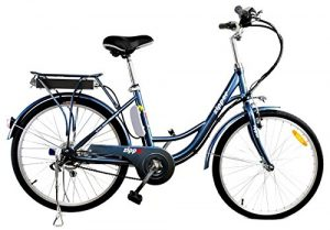Z3 City Electric Bike 24″ – Steely Blue