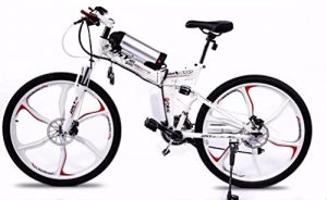 Electric Folding Bike Jedi White