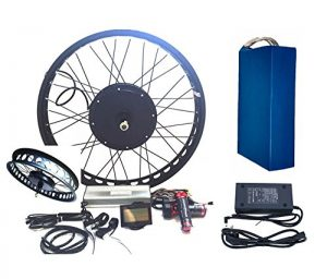 theebikemotor 3000W Hub Motor 72V35AH Panasonic Cell Li-on Battery Powered Electric Bike Conversion Kit + LCD