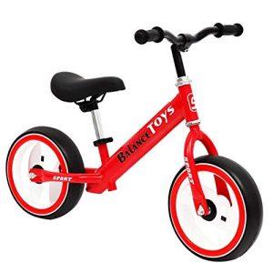 J.SF Children's Balance Bike Lightweight Glowing Flash Wheel Pedal 3-8 Years Old Kids Race Car