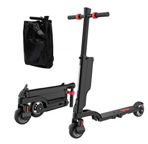 Collapsible Electric Scooter-Portable Electric Scooter With Bluetooth Speaker And Charging Station, Lightweight, Foldable, Suitable For Teenagers And Adults, Travel And Outdoor Activities