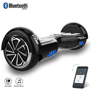 Mega Motion E1 Self Balanced Electric Scooter -built in Bluetooth Speakers – LED