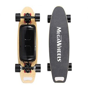 Megawheels Electric Skateboard Great Gradeability & Load-bearing Capacity for Kids, Teenager and Adult