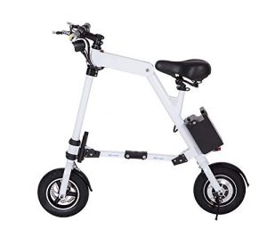 Electric Folding Adults City Bike Men/Ladies Pedal Assist Bicycle