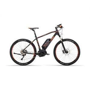 e-sestriere 27.5 Mountain Bike Performance CX 500 Black Orange Electric – lombardo Bikes 2017 – Size 18