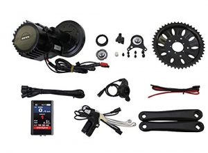 Latest BBSHD BBS03 48V 1000W 8fun Bafang Mid Drive Motor Ebike bicycle Kit BB:100mm with Colour Display