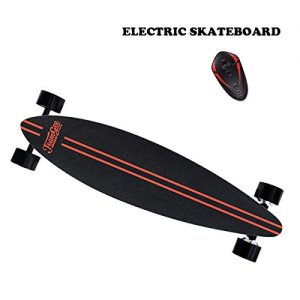 BQHY 1819 Four – Wheel Drive Electric Skateboard Longboard with Remote Control by Teamgee