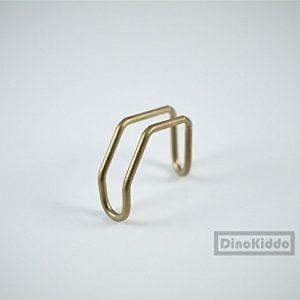 Titanium E-Type hook Gold unit set for Brompton Folding Bike – Dino Kiddo