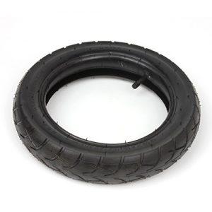wingsmoto 12 1/2 x 2 1/4 Tyre Tire + Inner Tube with TR13 Straight Stem for Razor Pocket Mod 24V Electric Scooter Isobutylene Isoprene Rubber