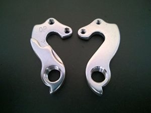 MIXIM 2 PCS MTB Frame Rear Derailleur Hanger Dropout Wrap with Bolts FOR Merida Bike