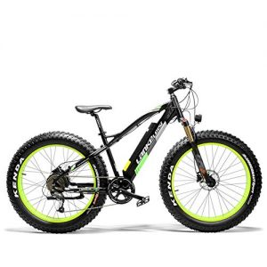 Extrbici XC4000 adult electric bicycle and auxiliary bicycle 500W 36V 16AH mountain bike snow bicycle bicycle 26 inch with Shimano disc brake