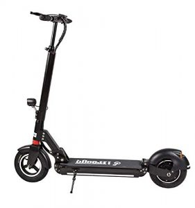 FREEGO Electric scooter Rechargeable Battery two-wheeled bluetooth Kick Scooters with mileage 30 to 40km for adult and kids LED Light High Power Lightweight Foldable