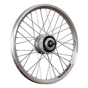 Taylor Wheels 20inch bike rear wheel double-wall rim Nexus 8 freewheel silver