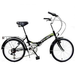 Stowabike 20″ Folding City V2 Compact Foldable Bike -6 Speed Shimano Gears