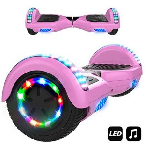 Markboard Hoverboard 6.5″, UL,CE Certified Two Wheel Self-balancing Scooter Skateboard With LED and Bluetooth