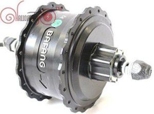 48V 750W 8Fun/Bafang Brushless Geared DC Cassette Fat Tire Hub Motor Rear Wheel Dropout Width:190MM