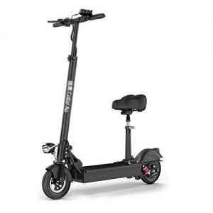 Scooter HLF- Adult electric, mini folding portable bicycle 150kg load, cruising range 35-60km, voltage power: 36v350w