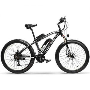 Extrbici New XF660 4.0 inch Fat Tire Electric Mans Mountain Bike 1000W 48V Disc Brake (white)
