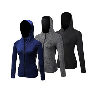 Uglyfrog 2018 Bike Wear Women Hooded Coat Cycling、Running Shirts Long Sleeve Compression Base Layers Full Zipper Spring Sports & Outdoors Clothes