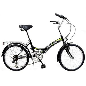Stowabike 20″ Folding City V2 Compact Foldable Bike -6 Speed Shimano Gears