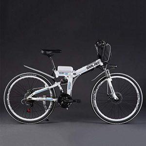 SZPDD Mountain Bike Electric Bicycle 36V350W 8Ah Powerful Electric Fat Bike Lithium Battery Off Road Bike