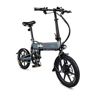 DAPHOME FIIDO Ebike, Foldable Electric Bike with Front LED Light for Adult