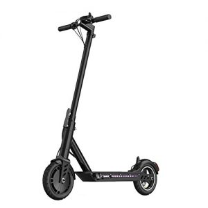 ZDDOZXC Electric Scooter,E-Scooter Foldable,250W High Power,36V Rechargeable Battery,Max Speed 25km/h,Electric Scooter for Adult,Black,6.6AHbatterylife20to30km