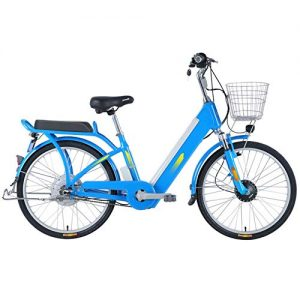 GUI-Mask SDZXCElectric Bicycle Leisure Travel 48V Lithium Battery Electric Bicycle Power Electric Bicycle 24 Inch Wheel Diameter