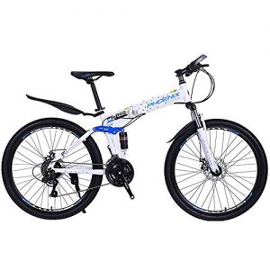 XIXIA X Bicycle Folding Mountain Bike Male Speed Off-Road Racing Youth Student Female Adult Bicycle 26 Inches