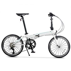 GUI-Mask SDZXCFolding Bicycle Adult Men and Women Travel Road Folding Bike 20 Inch 18 Speed