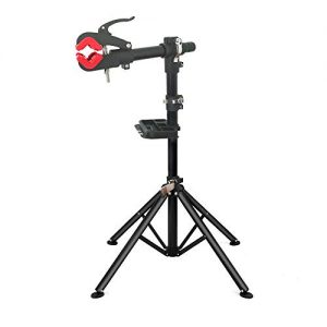 TMZ Heavy Duty Bike Bicycle Maintenance Mechanic Repair Folding Work Stand Mountain Tool,Hold up to 40KG, Adjustable Height 108-190 cm
