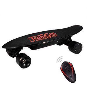 "DBSCD Electric Skateboard Mini 400w Brushless Wheel Motor 18650 Lithium Battery Life 15km, KooWheel Wireless Remote Control 24""* 7.9""* 4.7""."