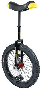 QU-AX Muni Starter unicycle black 2017 unicycles for adults