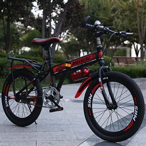 HWZXC Children's Foldable Bikes, Student Folding Bicycles Children's Folding Bike Mountain Bike Boys And Girls Foldable Bikes