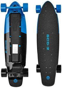 E-GO 2Velobil Skateboard, Blue, XL