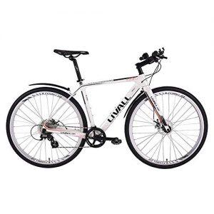 LLVAIL Carbon Fiber Road Bike Bicycle Smart Bicycle Speed Change Ultra Light Disc Brake Mountain Bike With Disc Brake 24 Speeds Drivetrain