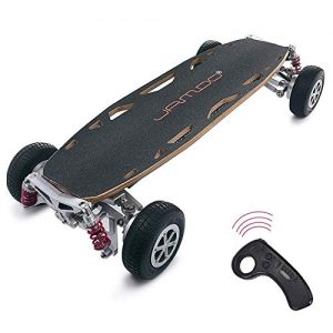 """DBSCD Electric Scooter for Adult, Off-Road Dual-Drive/Four-wheel Drive High-speed Skateboard Wireless Remote Control Scooters 37.4""""* 16.5""""* 7.1"""",Doubledrive,30~40KM"""
