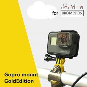 Trigo For BROMPTON GoPro Mount GOLD