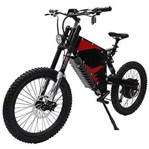 LPsweet 60V 1500W Powerful Electric Bicycle Ebike Front And Rear Shock Absorber Soft Tail All Terrain Electric Mountain Bike