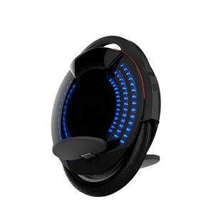 Monowheel One Wheel Electric Self Balancing Scooter Speed 18.6 Mph (30Km/H) Battery Capacity 480Wh EUC Off-Road APP with Decorative Lamps Unicycle