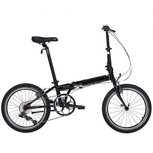 GUI-Mask SDZXCFolding Bicycle Mountain Bike Speed Adult Student Bicycle 20 Inch 8 Speed