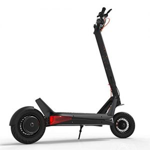 KUSAZ Adult electric scooter, collapsible city scooter, off-road electric car, lithium battery pack, high endurance, dual brake system, 13-25.6Ah /60V, 1000W