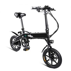 Gmorosa 1 Pcs Electric Folding Bike Foldable Bicycle Safe Adjustable Portable for Cycling- The Dutch warehouse is sent and arrives on 10-15 working days