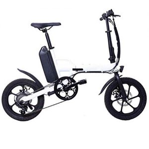 June Folding Electric Bike For Adults City Electric Bikes With A 250W Brushless Motor 36V 13 AH Built-in Lithium Battery 6-speed Electric Bike