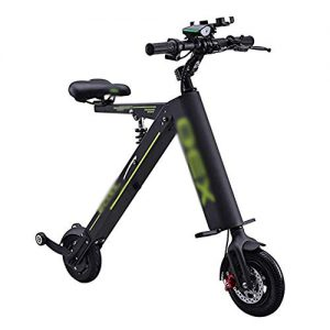 """ZXMDP Electric Scooter Adults,8"""" E-Scooter, Portable and Adjustable Design,Max Speed 25Km/H, Motorized Scooter Suitable for Adults & Teenager"""