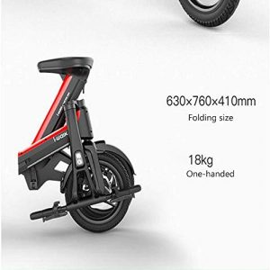 TYZXR Outdoor 350W Foldable Electric Scooter for Adult Portable Small Ultra Light/Mobile Phone Bluetooth Unlock The Maximum Load Capacity 100Kg,35Km,50KM