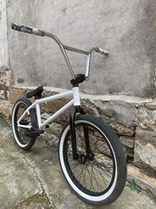 SWORDlimit 20 Inch Freestyle BMX Bike for Beginner To Advanced Riders, Full Crmo Frame, Chrome Molybdenum Steel 8 Key Crank 25T Sprocket Wheel 9T Card Shaft