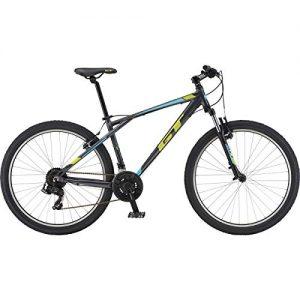 GT. 2019 Palomar 27.5″ Wheel Mountain Bike Front Suspension 21 Speed Gunmetal Medium Frame