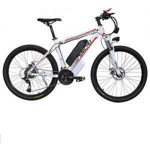 Oito Electric Mountain Bike Bicycle Lithium Battery Aluminum Frame LCD Digital Display Control Mechanical Disc Brake Intelligent Brushless Toothed Motor