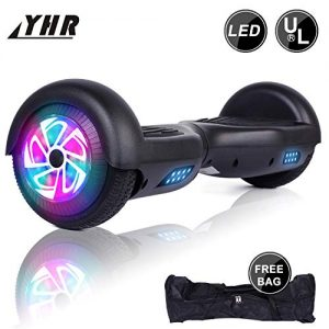 YHR 2 Wheels 6.5″ Self-Balancing Hoverboard for Kids and Adults